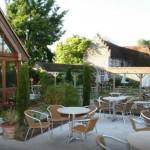 cloister's restaurant view