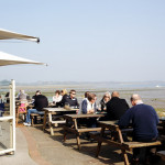 Ship Inn Outdoor Seating for birdwatching, birdwatchers, birding, birders