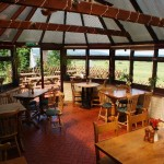 Sportsman Inn restaurant area ideal for birders, birdwatching, birdwatchers, birding