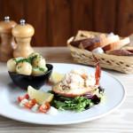 White Horse crab platter for hungry birdwatchers, birdwatching, birding, birders