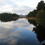 Loce Insh Boatouse View ideal for bird watching, birders, birding