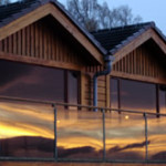 Loce Insh Boatouse Deck ideal for bird watchers, birding, birders