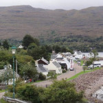 Quaint Shieldaig Town for birding birdwatching, birdwatchers, birders