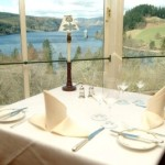 Lake Vyrnwy Tableside view, great bird watching views, birders, birding