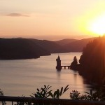 Lake Vyrnwy Sunset ideal for bird watching, birders, birding