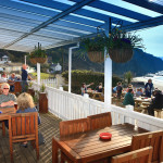 Ship Inn Restaurant view for bird watching, birdwatchers, birding, birders