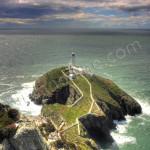 Lighthouse Anglesey for birdwatching, birdwatchers, birding, birders